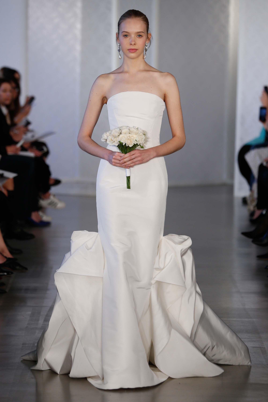 Oscar de la Renta Bridal Spring 2017 collection.