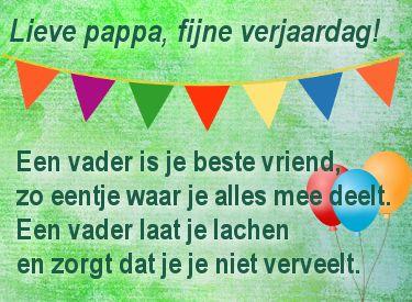 Papa 40 Jaar Gedicht
