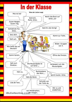 Willkommen auf Deutsch - Schule | Learn german, Language and School
