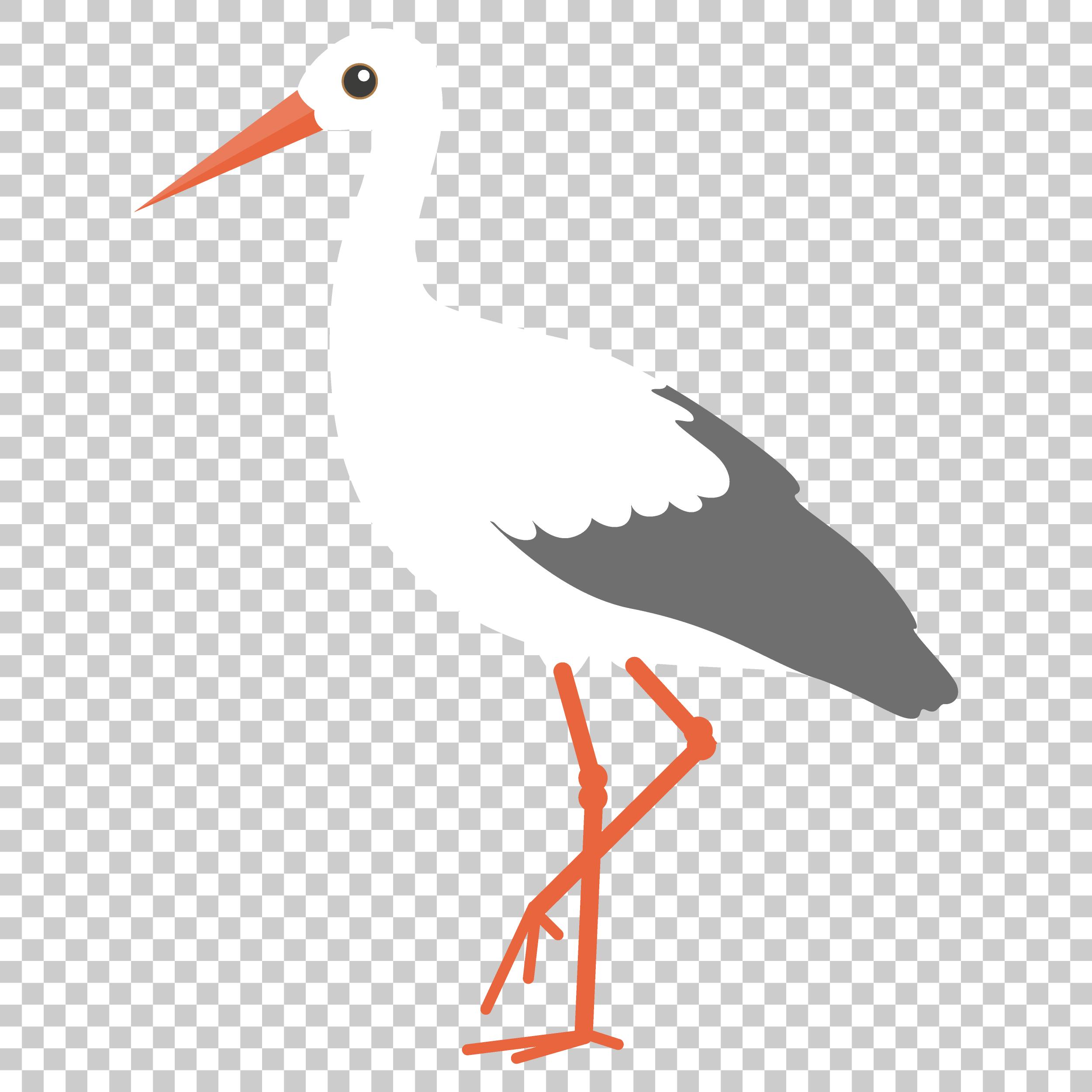 Crane Stork Bird Png Image With Transparent Background Stork Stork Bird Bird