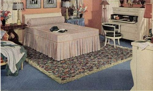 21 Early 1940s Interior Designs By Hazel Del Brown Of Armstrong .