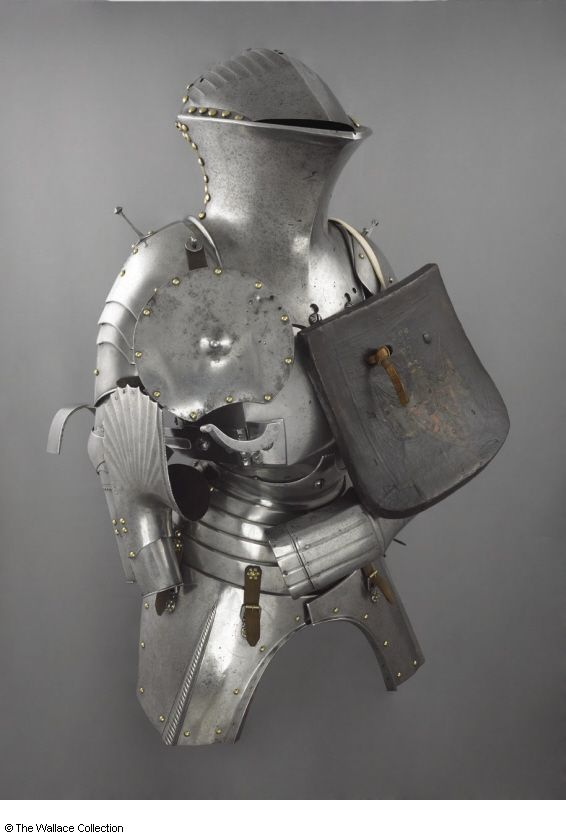 Jousting Armour Unknown Artist Maker Augsburg Or Nuremberg Germany C 1500 1520 Low To Medium Carbon Steel Leather Medieval Armor Armor Historical Armor