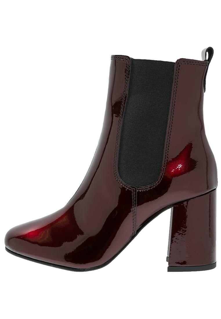Chaussures Pieces PSANTONIA - Bottines - high risk red rouge foncé: 120,00 €