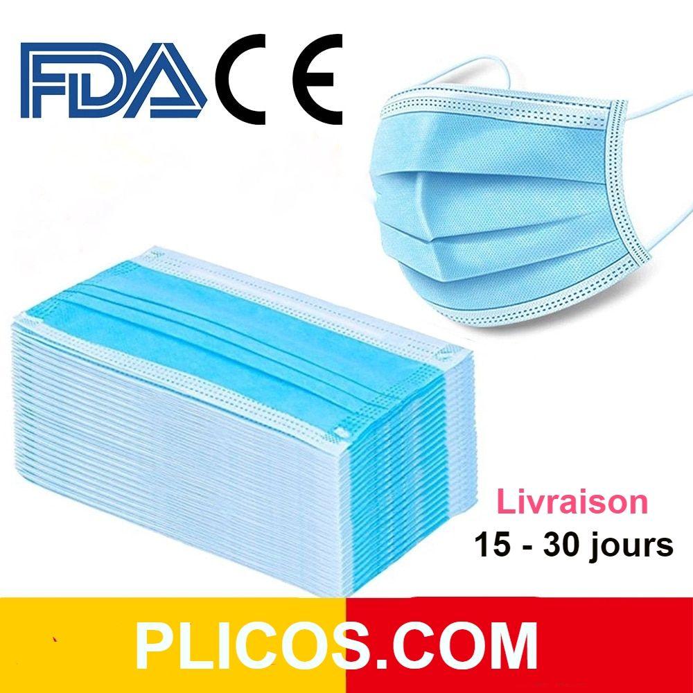 Masques 3 couches LIVRAISON RAPIDE
