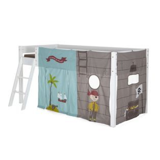 tente pour lit d 39 enfant mi haut pirate les meubles pour chambre enfant alinea pirates. Black Bedroom Furniture Sets. Home Design Ideas