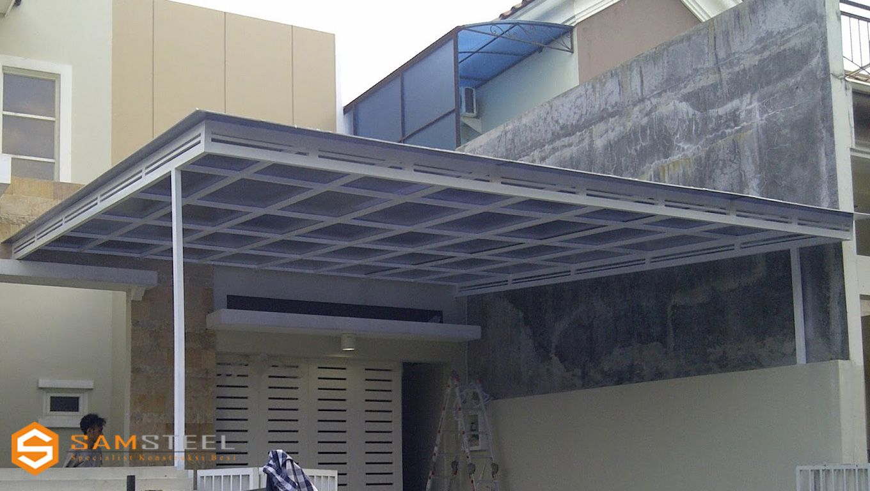 pasang baja ringan di semarang project minimalis desain dan rumah