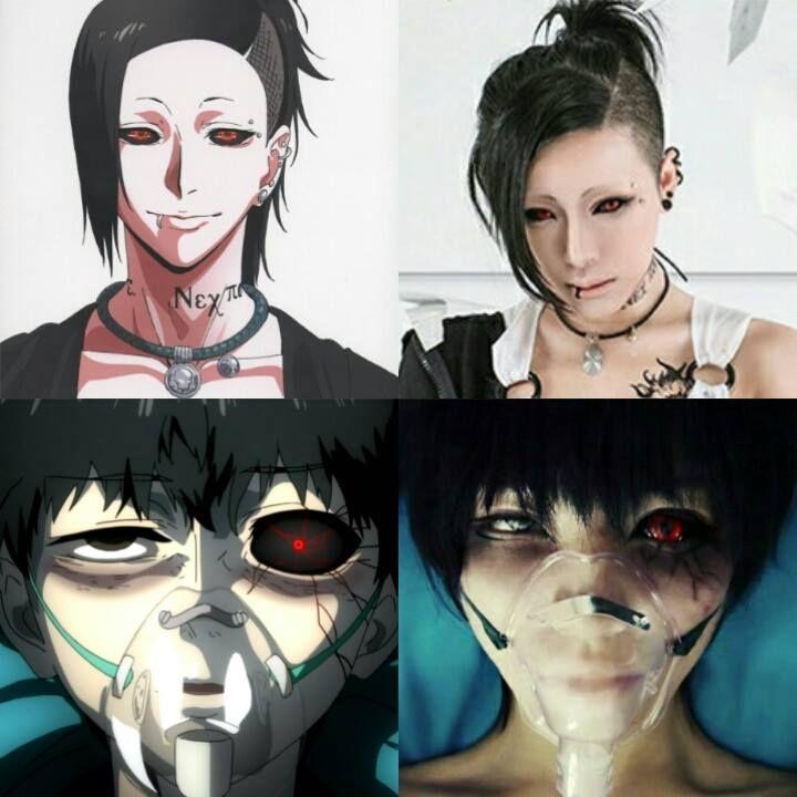 AmazingTokyo Ghoul Cosplays