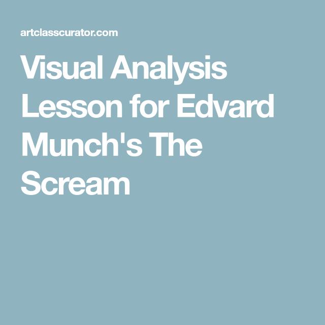 the scream art analysis