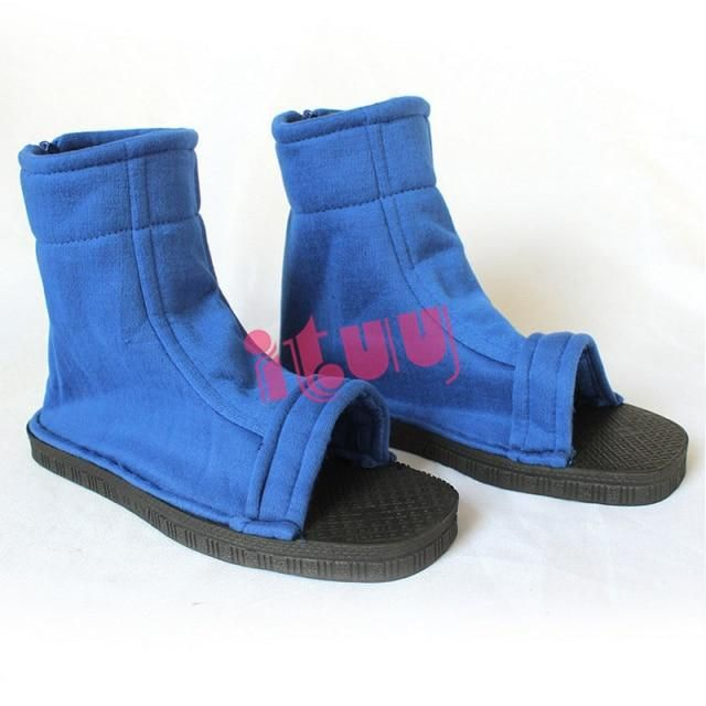 Photo of Anime Cosplay Soft Sandals Boots Shoes – Blue / 37