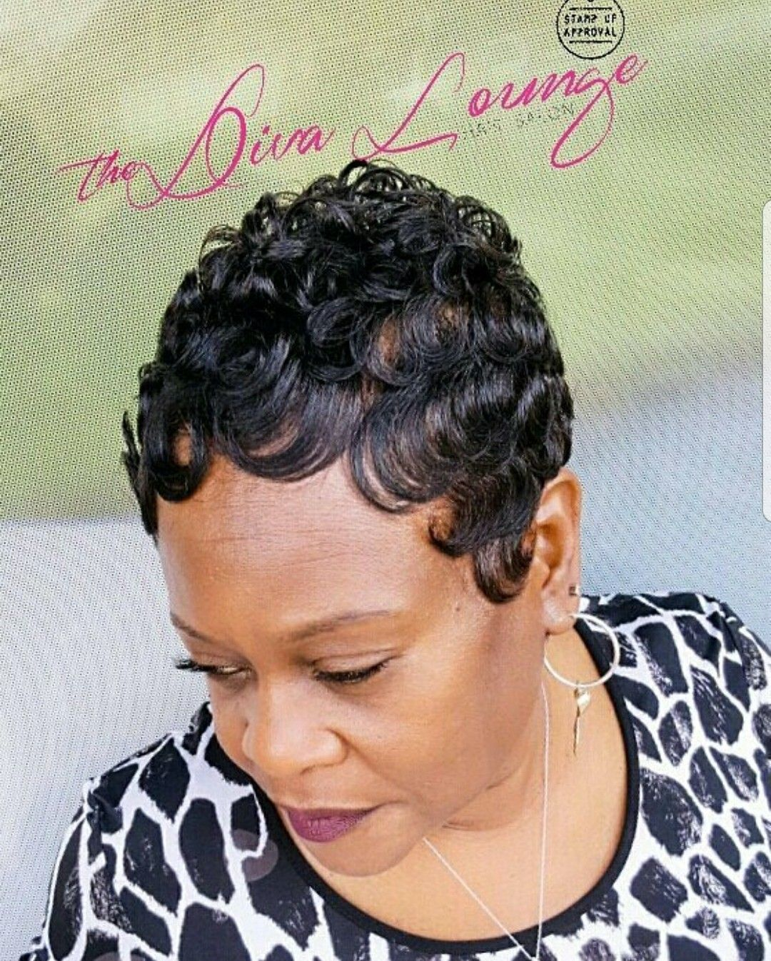 The Diva Lounge Hair Salon Larnetta Moncrief Montgomery Alabama Short Hair Styles Pixie Short Sassy Hair Short Hair Styles