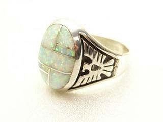 Native American Indian Jewelry Opal Ring Southwestern Jewelry Favs