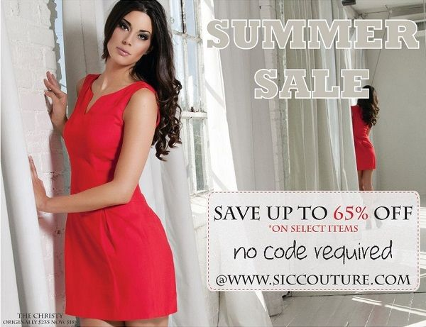 S.I.C Couture Summer Sale - Online Aug 2012 | WHSale