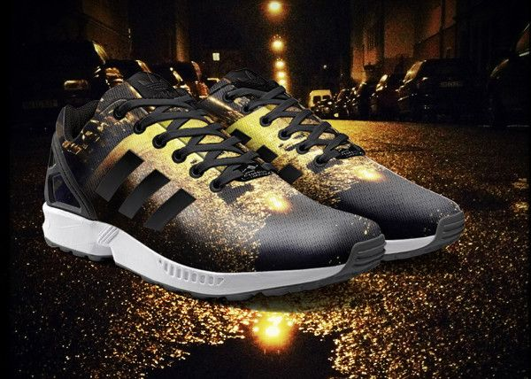 Adidas ZX Flux ~ all black Adidas Shoes for Woman amzn