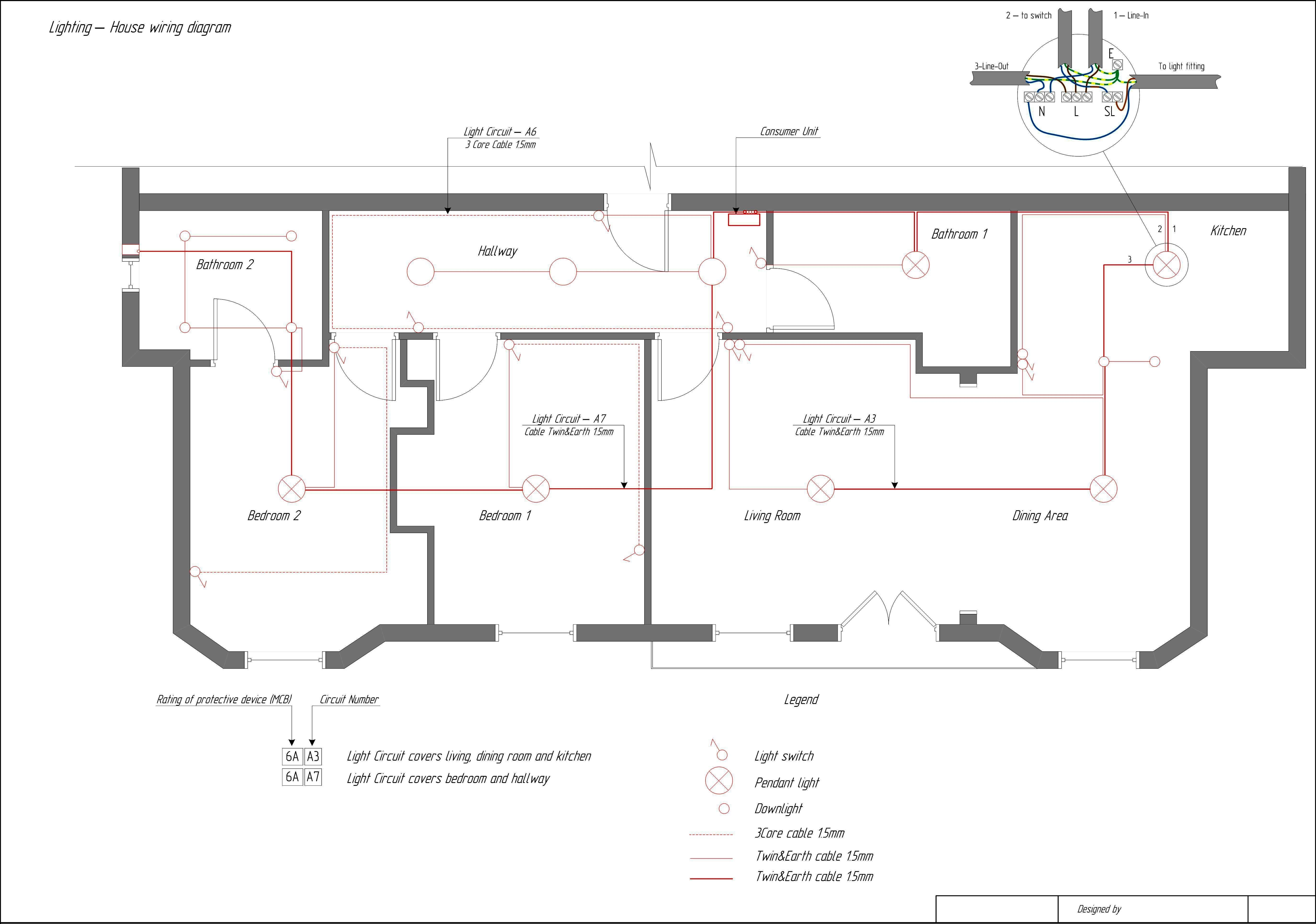 House Wiring Diagram. House. Wiring Diagrams Database | HOUSE ...