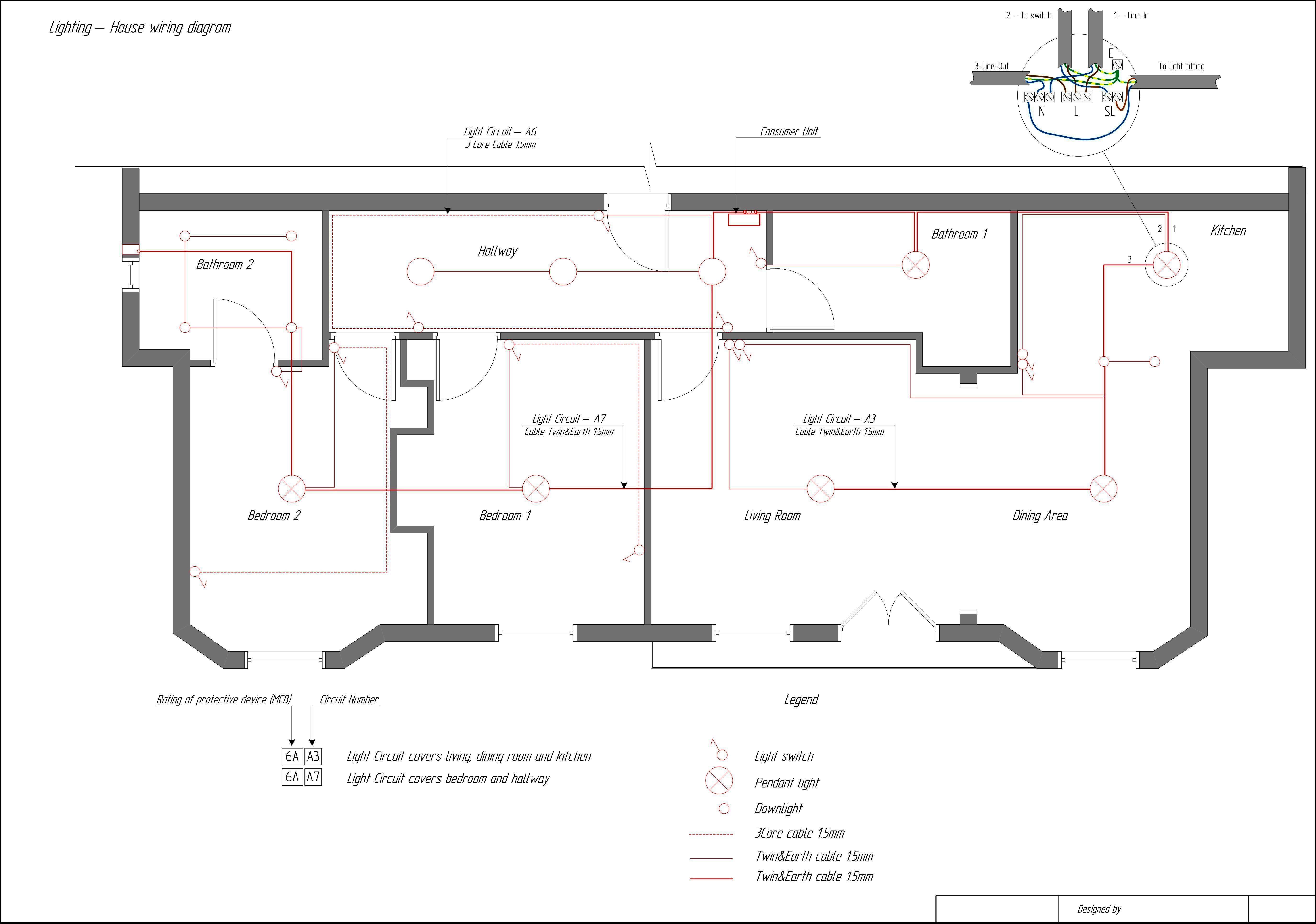 House Wiring Diagram. House. Wiring Diagrams Database