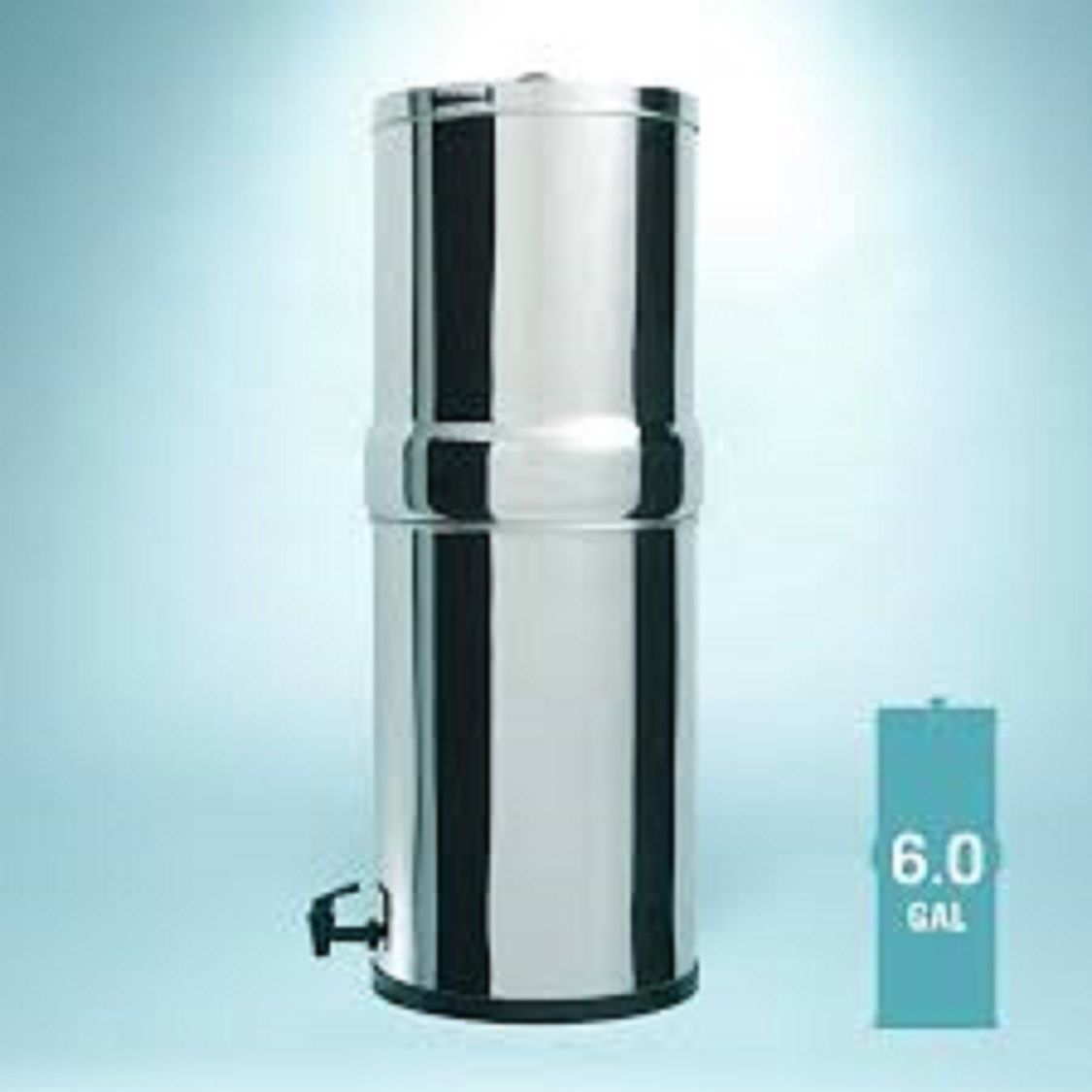 This System Comes Standard With Two Black Berkey Purification