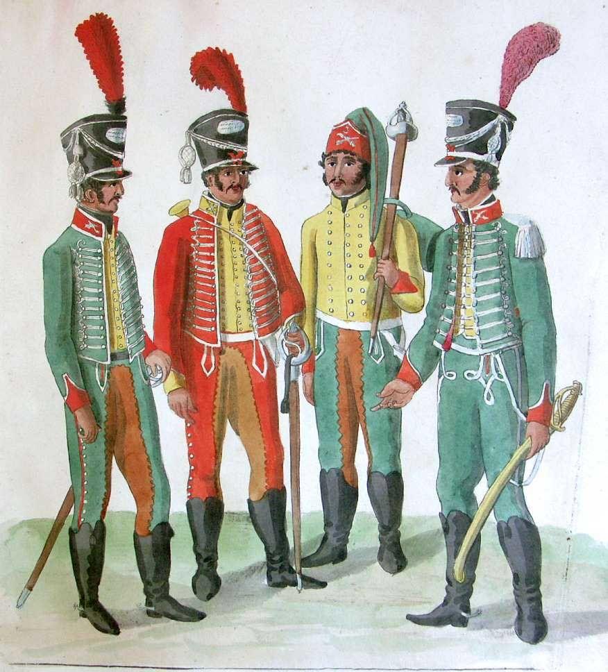Regimiento de Caballería Villaviciosa. Soldados