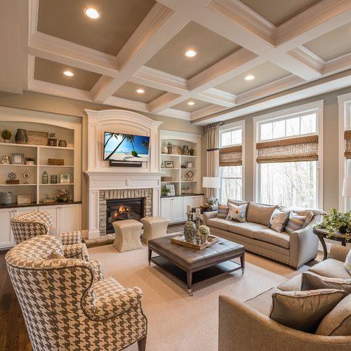 Houzz Family Room Design Ideas Amp Remodel Pictures Extension Salle Familiale Chambres Familiales Traditionnelles Salon Classique