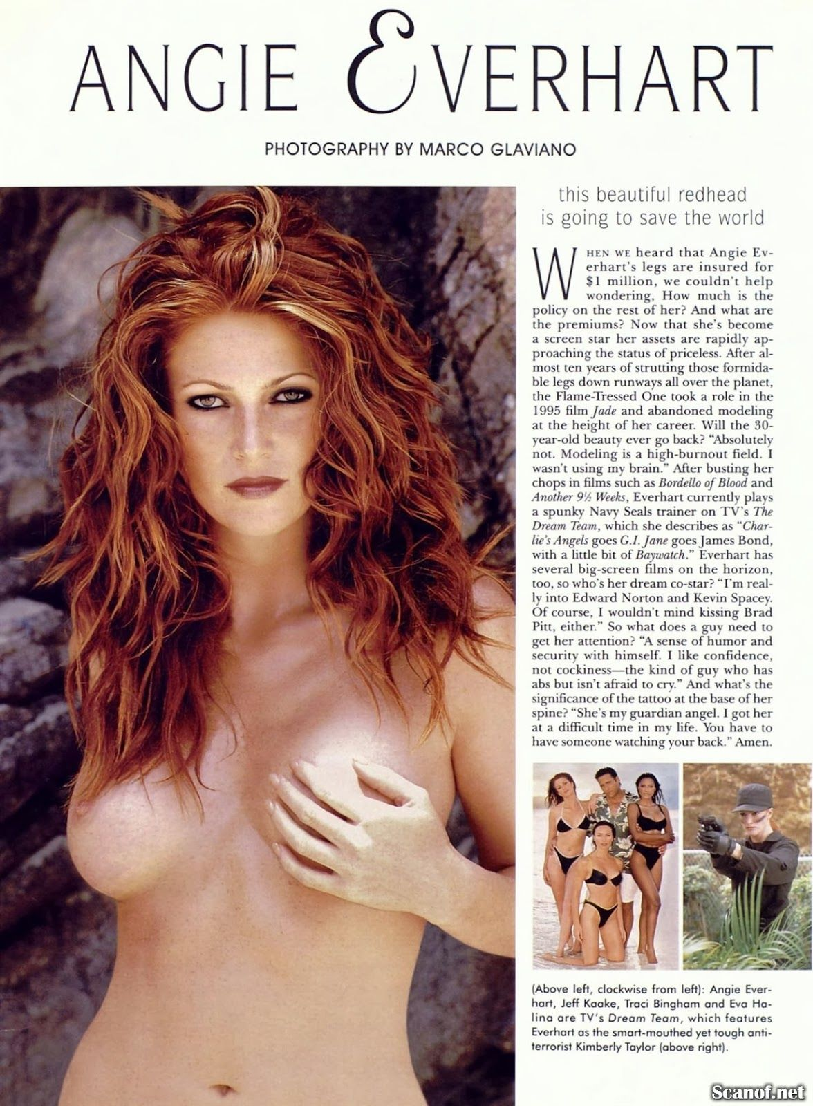 Angie Everhart Playboy pinterest