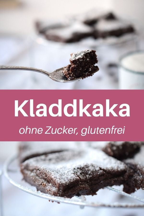 Schoko-Espresso-Kuchen | Low Carb Kladdkaka