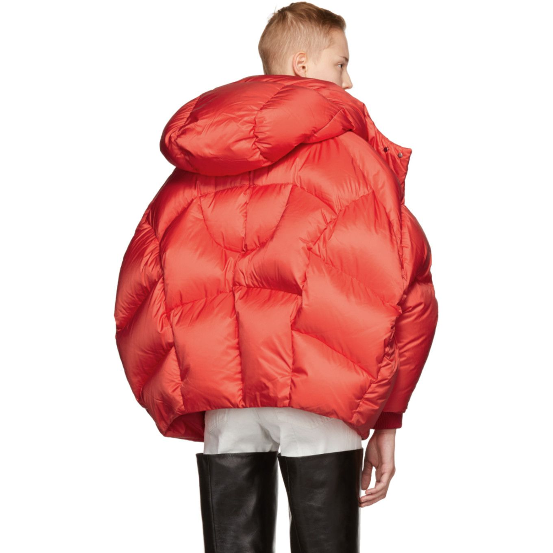 Chen Peng Red Shell Puffer Jacket Puffer Jackets Puffer Jacket Style Jackets [ 1360 x 1360 Pixel ]