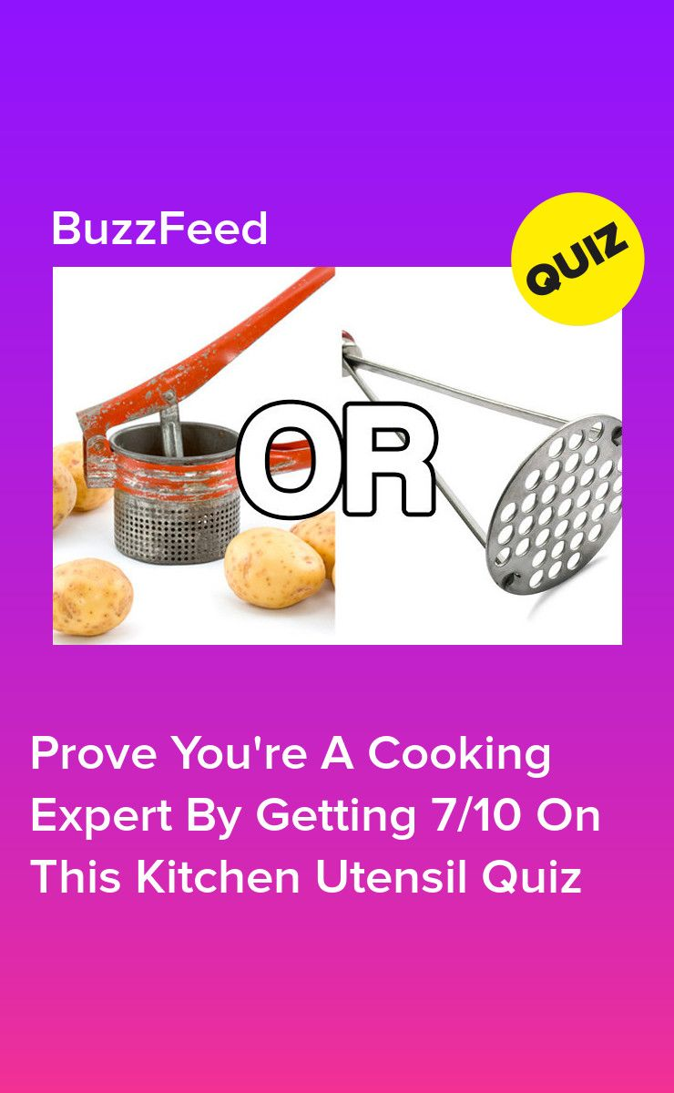 Prove You Re A Cooking Expert By Getting 7 10 On This