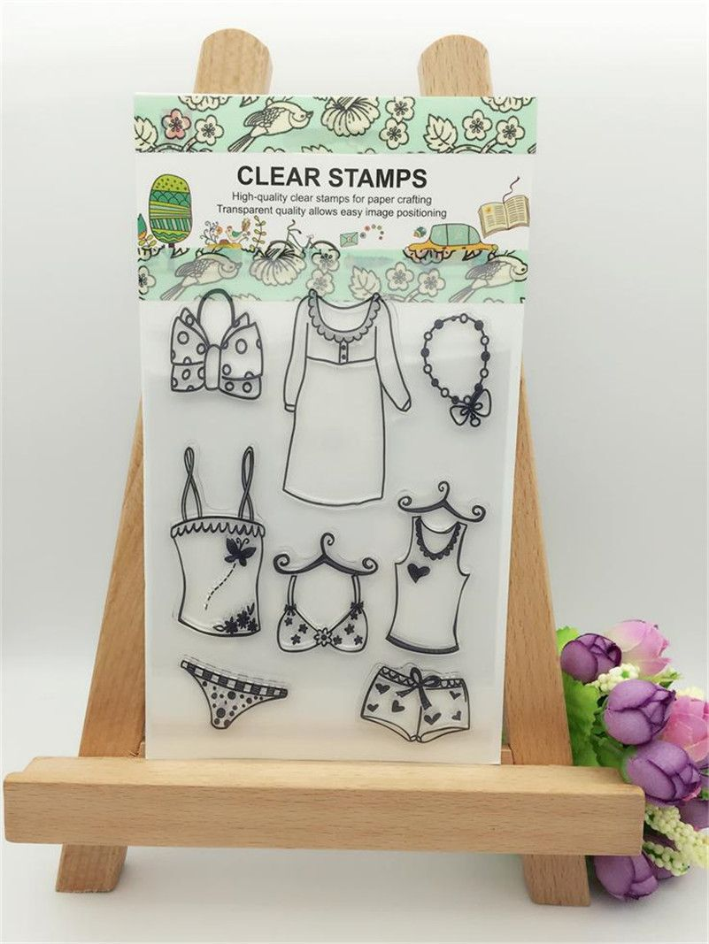 Transparent stamp about