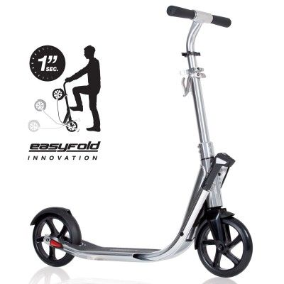 Oxelo Scooter Town 7 Easyfold Chrome Best Electric Scooter Electric Scooter For Kids Kick Scooter