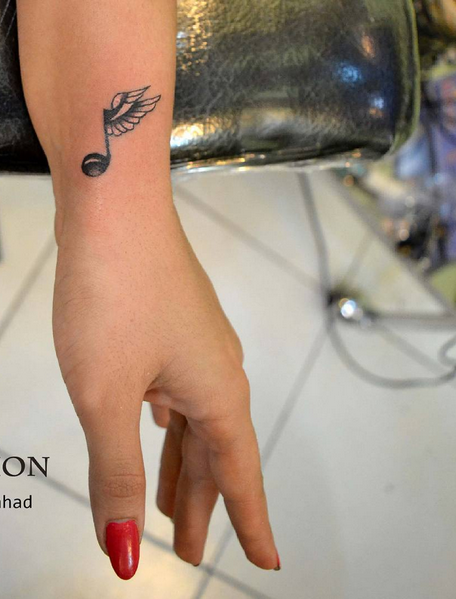 Music Symbol Tattoo Ink Youqueen Girly Tattoos Music Tattoos