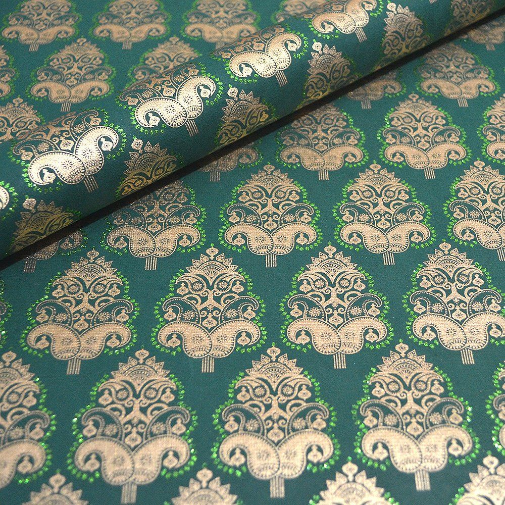 Handmade Indian Paper - Maharaja Green