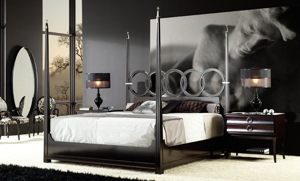 Beautiful four poster beds