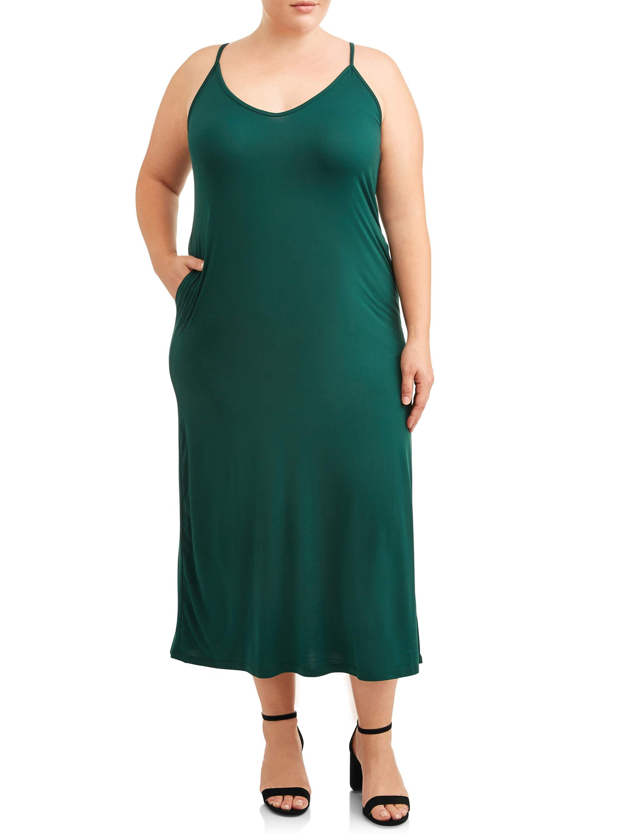 Free Shipping On Orders Over 35 Buy Love Sadie Women S Plus Size Maxi Dress With Pockets At Walmart Com Stylish Maxi Dress Plus Size Maxi Dresses Maxi Dress [ 2667 x 2000 Pixel ]
