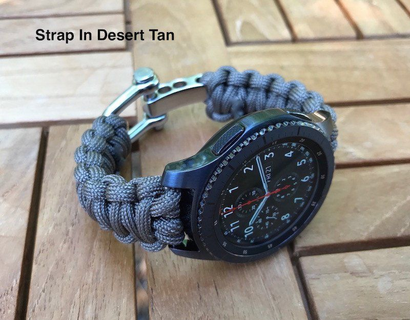 Samsung Gear S3 Paracord Watch Strap