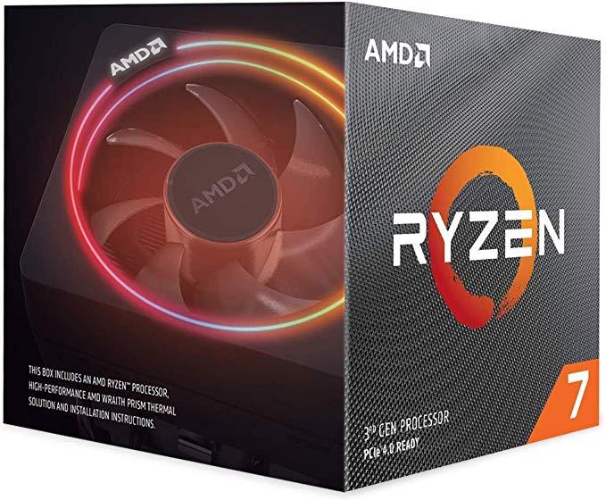 Amd Ryzen 7 3700x 8 Core 16 Thread Unlocked Desktop Processor With Wraith Prism Led Cooler Amazon Ca Computers Tabl In 2020 Amd Processor Computer Build