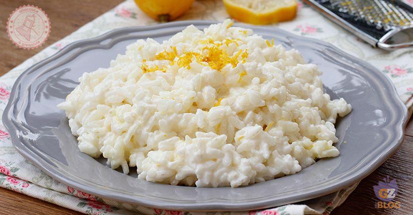 Ricette veloci risotto al limone