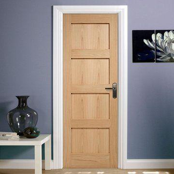 Contemporary 4 Panel Oak Bifold Door In 2020 Oak Fire Doors Fire Doors Oak Bifold Doors
