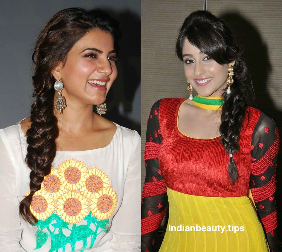 image result for hair tricks for thin salwar | celebs style