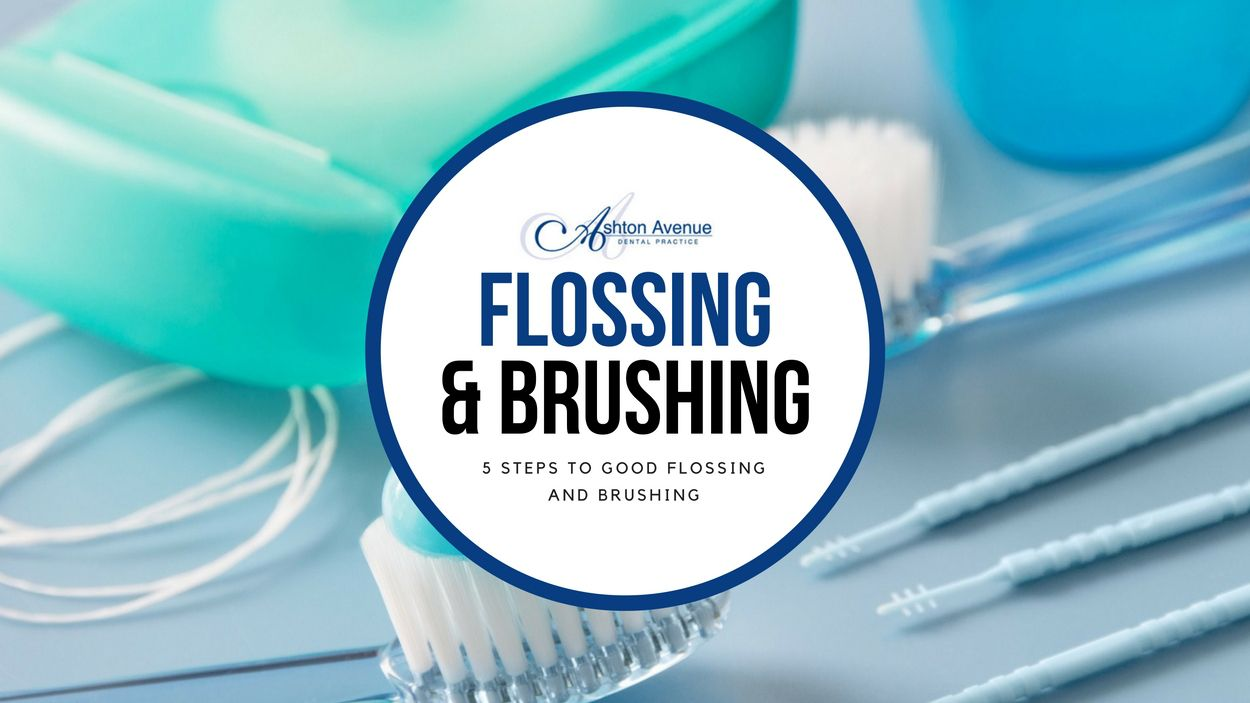 5 steps to good flossing and brushing flossing dental
