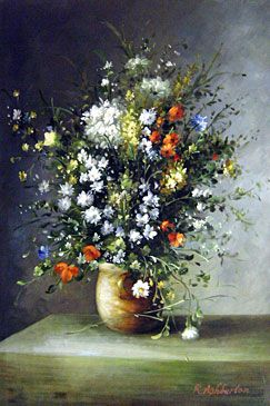Image Detail For Renoir Quot Flowers In A Vase Quot 01