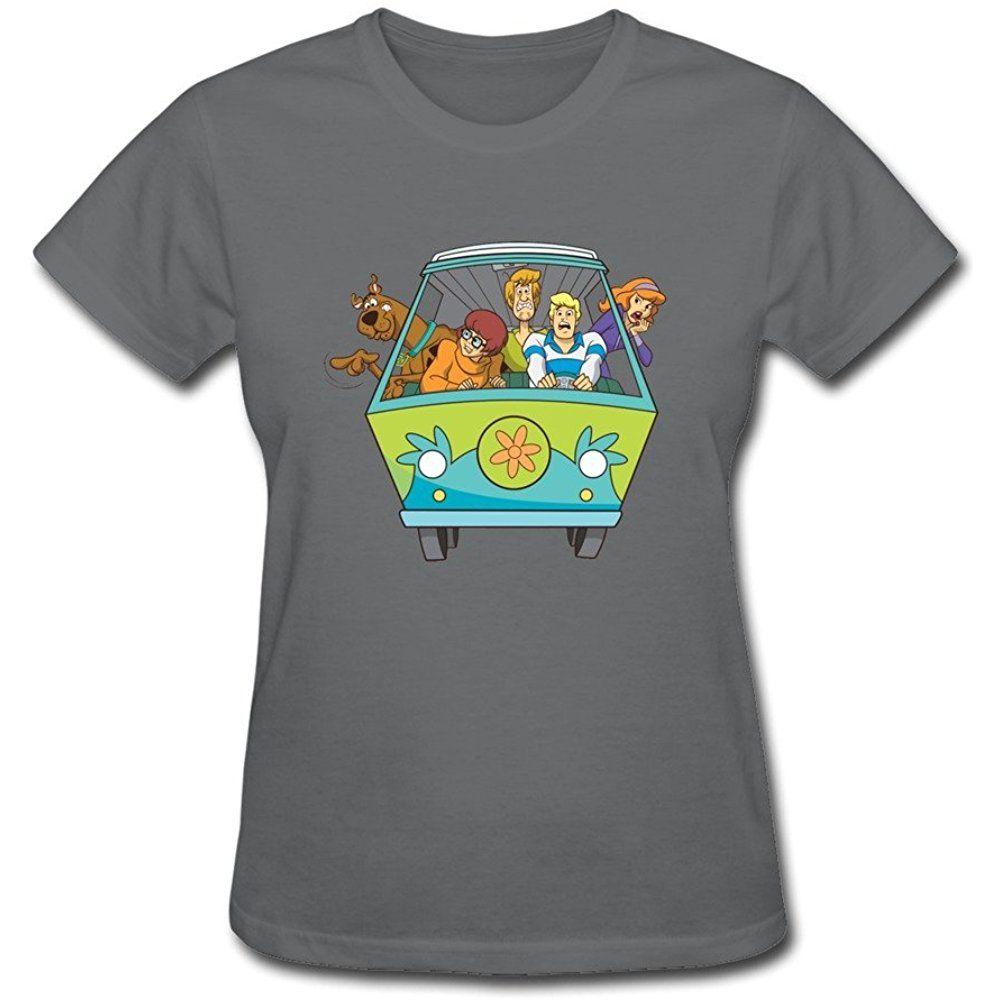 570219db Customize Short Sleeve Vintage Scooby Doo Womens T Shirts DeepHeather