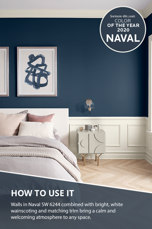 Do You Dream In Color With The Sherwin Williams 2020 Color Of The Year Now You Can Bedroom Blue Bedroom Walls Bedroom Paint Colors Master Bedroom Wall Paint