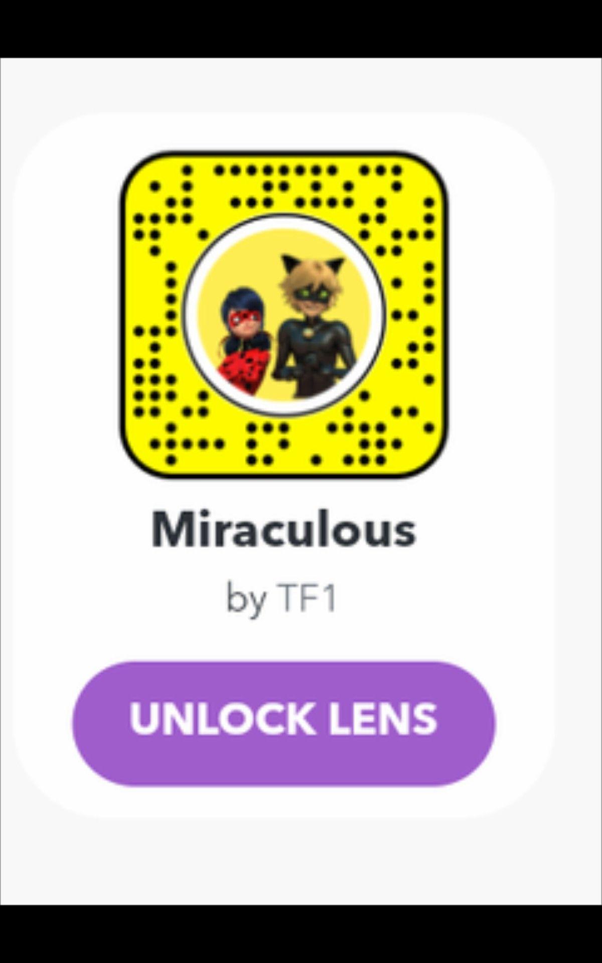 Miraculous Snapchat Filter Miraculous, Miraculous