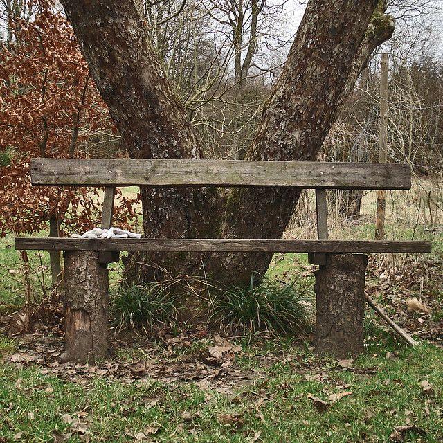 rustic bench Park it on a Bench Pinterest Bancos, Bancos - jardines con bancas