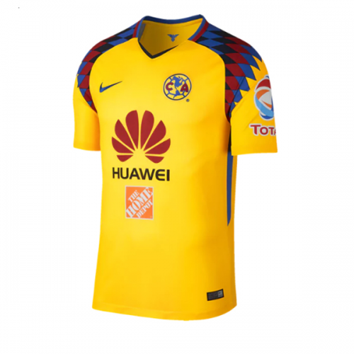 e2a2fce4d Image result for Huawei jersey shirt. 2018 Club America Third Away Yellow  ...