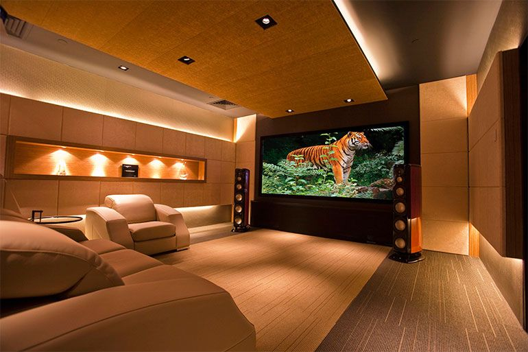 home cinema solutions by td sat and sound | Domotics, Audio Visuals ...
