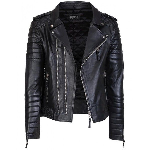 Kay Michaels Quilted Biker (2.035 BRL) ❤ liked on Polyvore featuring outerwear, jackets, coats, leather jacket, real leather jackets, quilted jacket, leather biker jackets, biker style jacket and genuine leather jackets