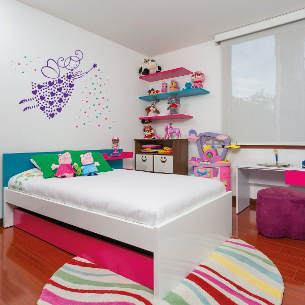 Habitación Peppa by KiKi | Decoración Infantil | Pinterest | Cama ...