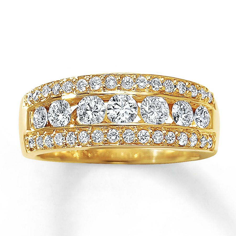 ring yellow rings engagement diamond jewellery gold