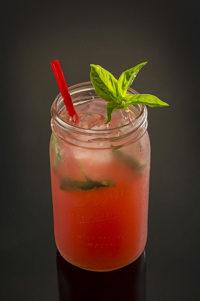 Blackberry Basil Lemonada