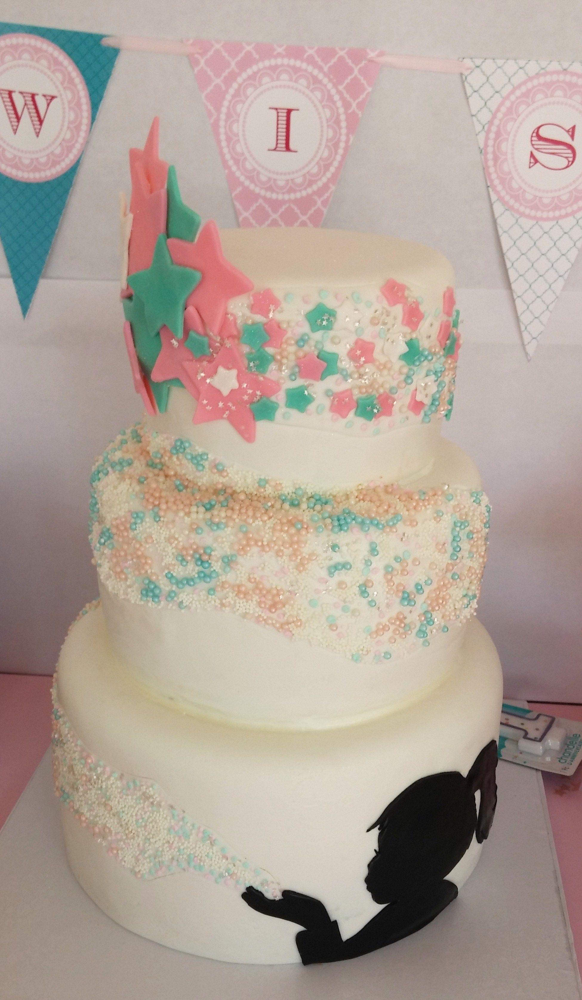my wish upon a star cake